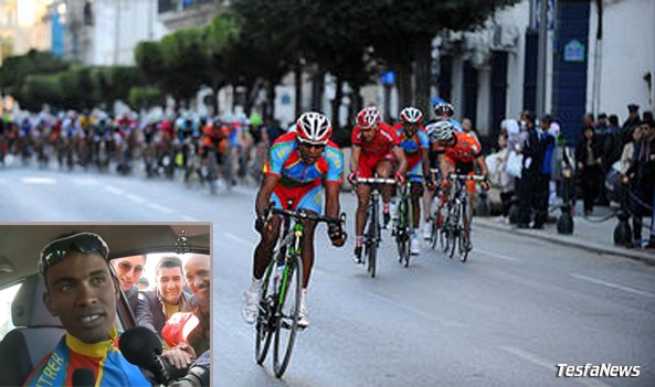 Mekseb Debesay - The unchallenged victor at the Tour d'Algiers
