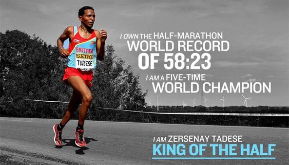 Zersenay at Istanbul Half Marathon