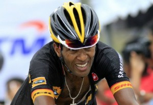 """Commanding performance. Merhawi Kudus is now 5th on the GC, only 38"""" behind the leader"""