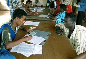 Over 3000 Somalia refugees currently living inside the Umkulu refugee camp in Eritrea