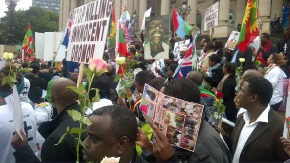 Oromo - Ogaden Communities Protes in Melbourn, Australia