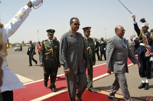 Enhanced bilateral cooperation and regional issues are President Afwerki's agenda during his 3 days state visit to Sudan