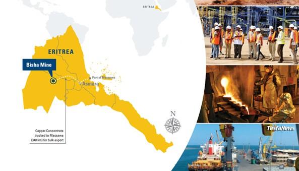 Eritrea 14th Mining Jurisdiction in Africa