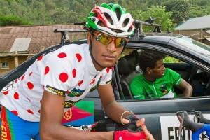 Two of Eritrea's finest riders, Natnael Berhane (Europcar) and Daniel Teklehaimanot (MTN-Qhubeka)