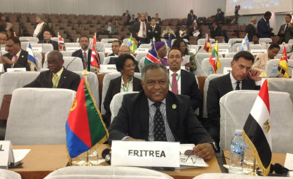 Eritrea urged NAM member states to respect the collective ideals and further beyond narrow national interests and short term political and diplomatic expediences