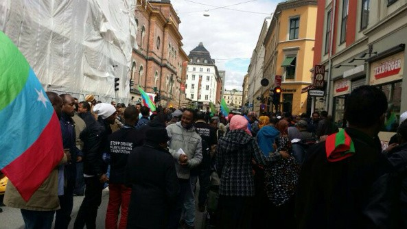 Oromo - Ogaden Communities Protes in Oslo, Sweden