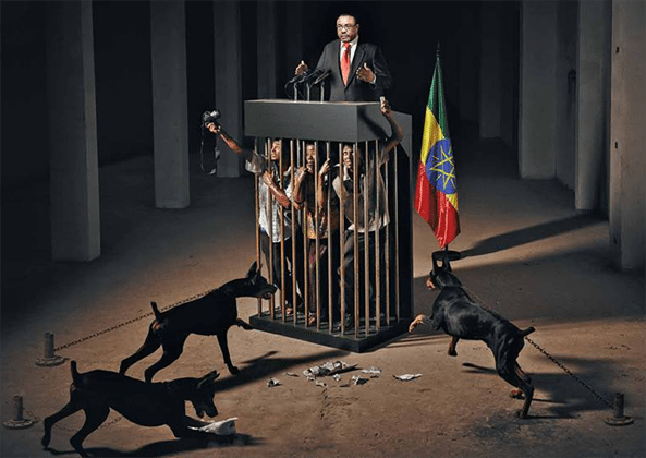 May 3rd - World Press Freedom Day.  This is how it is remembered in Ethiopia
