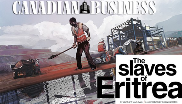 The case of Matthew McClearn of the Canadian Business Magazine. An eye for a Chin?