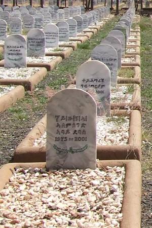 Martyr's Cemetery in Asmara
