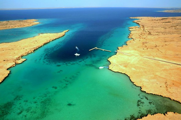 The pristine waters and unmatched beauty of the Dahlak island in Eritrea
