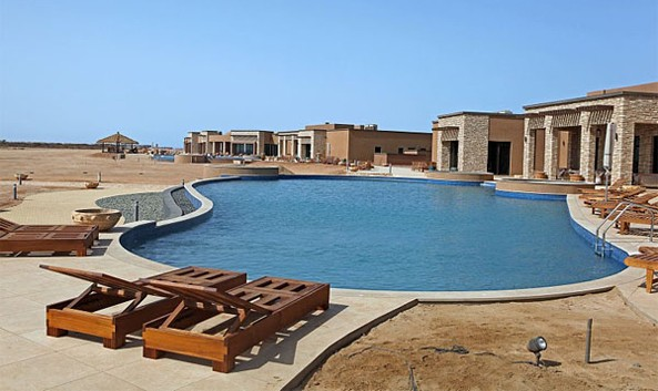 The Dahlak Resort Hotel at the Dahlak Island on the Eritrean Red Sea is going to be the next big thing when completed and start service