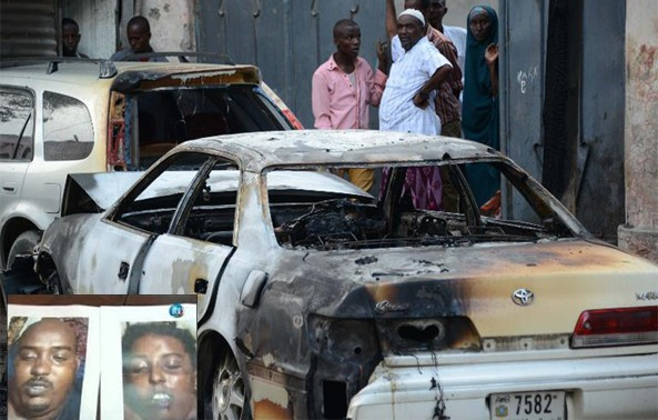 Djibouti demands explanation over a male and female suicide bomber suicide bombers from Somaliland after the May 25th bomb attack leaves 20 dead and 15 others wounded in a restaurant popular with Westerners
