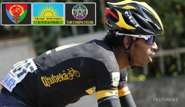 Team Africa Rising has formed a partnership with Rwanda, Ethiopia and Eritrea