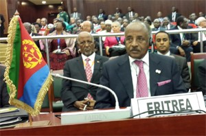 Eritrean Delegation at the 23rd Session of the AU Summit, Malabo, Equatorial Guinea
