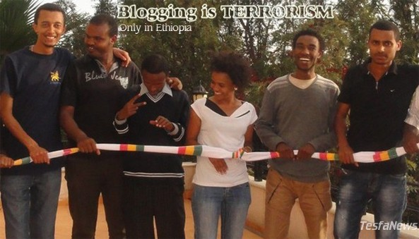Ethiopia continue making a mockery of its judicial system by accusing the seven zone nine website bloggers and three journalists as Terrorists