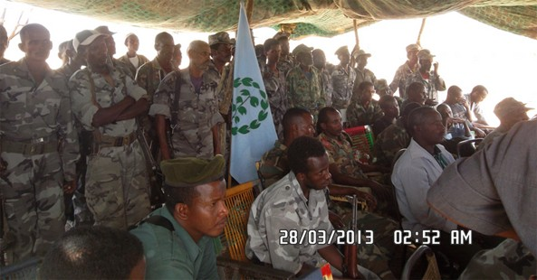 (Photo Archive) Ethiopia based, poorly armed Eritrea opposition military
