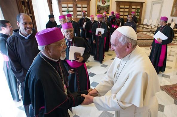 Pope Erected Eastern Catholic Church for Eritrea