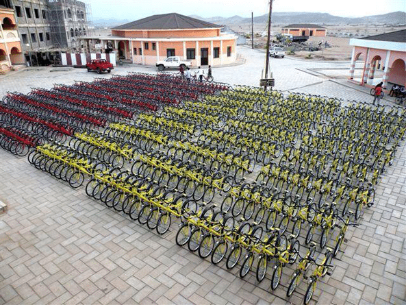 Thanks to the free bicycles donated to every boy and girl student at the St. Francis school in Massawa, school distance can never deter them to reach school. No more.