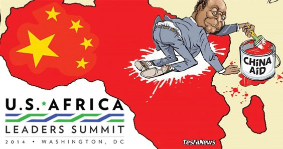 Although the continent of Africa has 54 countries, the nation that received the most attention at last week's US-Africa Summit in Washington, D.C. was China. That's because the U.S. is trying to catch up with and surpass the Asian superpower. To catch up with China, with invests twice as much as the U.S. in Africa, the Obama administration must pivot from its traditional role of providing foreign aid to Africa—with strings attached—to one of an investor/partner.