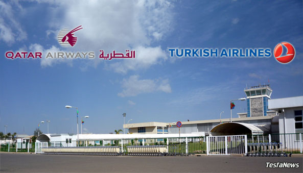 Turkish Airlines and Qatar Airways has found a new country to serve - Eritrea. On 19 August the Star Alliance carrier Turkish Airlines began thrice-weekly flights from its Istanbul Atatürk (IST) hub to Asmara (ASM). Qatar Airways would be adding Asmara to its route network with twice-weekly direct services from Doha starting in December.