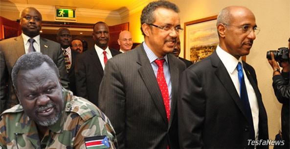 South Sudan rebel negotiators accused IGAD (Ethiopia) of double standards