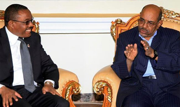 """hough its relation with Eritrea seems outstanding from the cover, Sudan, along with Yemen, are the unwitting partners of the """"axis of belligerence"""" aka Sana'a Forum that was originally designed to promote the Ethiopian agenda of destabilizing Eritrea."""