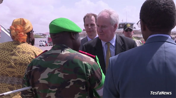 The visit was a historic one and the first visit by the United Nations Security Council in 20 years