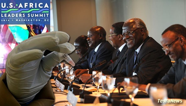Not a great time for Obama's African Summit in Washington? As the meetings were set to begin, the Ebola outbreak stunned the Obama administration. Instead of cancelling it altogether, Obama decided to screen every attendee including African Presidents. Wow!