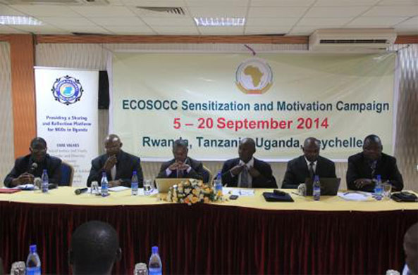 AU Sensitization and Motivation Campaign in Eritrea to Encourage Participation in the Election for the ECOSOCC Second General Assembly