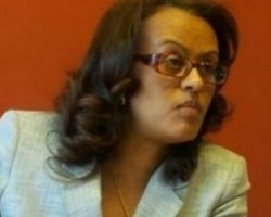 Ethiopia's ambassador to Sweden, Woinshet Tadesse