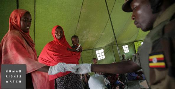 AMISOM troops, comprised comprised from Uganda,Burundi,Kenya,Ethiopia,Djibouti and Sierra Leone, uses humanitarian aid to coerce vulnerable Somali women and girls into sexual activity