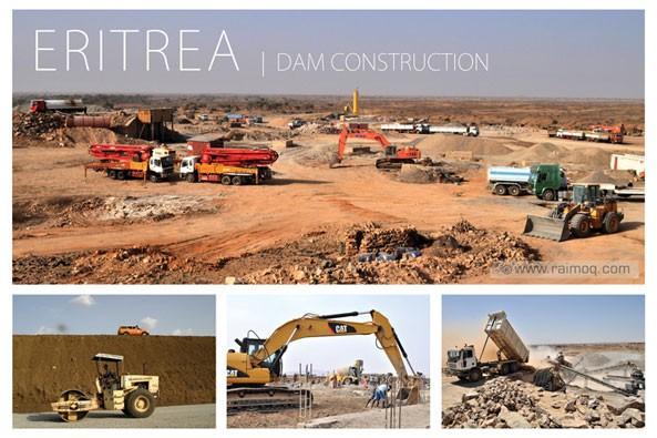 Dam Construction in Eritrea