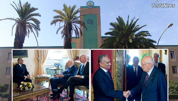 Welcoming Ambassador Fisehatsion Petros as Eritrea's new envoy to Italy