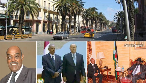 Zooming in Diplomacy. Eritrea consolidating its diplomatic and bilateral relation with its strategic and immediate neighbors