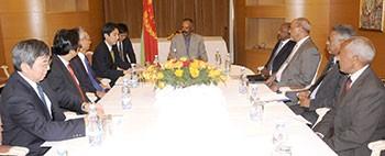 Meeting between President Isaias and Deputy FM of Japan in Asmara