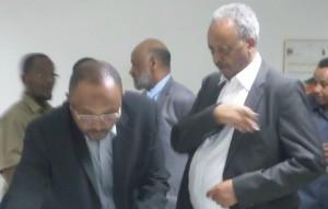Eritrean Finance Minister Mr. Berhane Habtemariam at SCPP