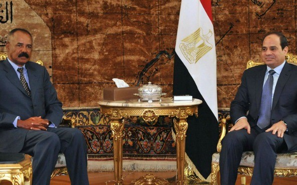 The strategic meeting between Eritrean and Egyptian Presidents at the Al Etihadia Presidential Palace in Cairo
