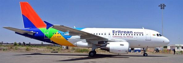 Eritrean Airlines Airbus A319-100