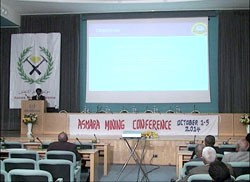 Presentation at the 5th Eritrean Mining Conference