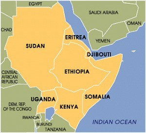 Eritrea Endorsed. UN and Development Bank leaders launched a US$8 billion Horn of Africa Initiative on high-level visit