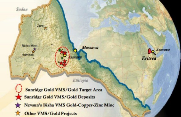 Much of the political risk of investing in Eritrea has been removed by the combination of Nevsun Resources' success and the involvement of the Government of Eritrea as a significant partner in any given project