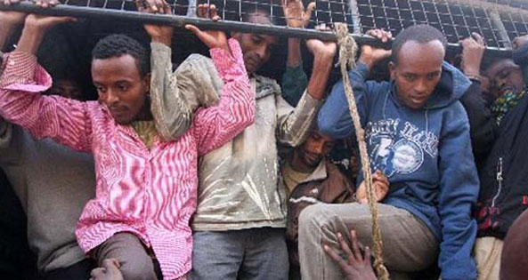 Malawi Police Nabbed 100 Illegal Ethiopian Migrants