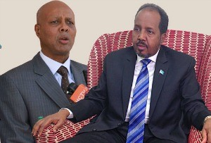 """""""I assure you that the President and I are in constant discussions working together on behalf of the Somali people,"""" - Prime Minister Abdiweli Sheikh Ahmed"""