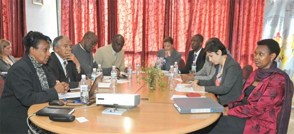 A United Nations Development Group (UNDG) delegation visit to Asmara