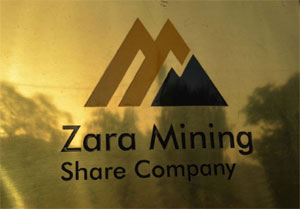First gold pour by Zara Mining Share Company is expected at the third quarter of 2015