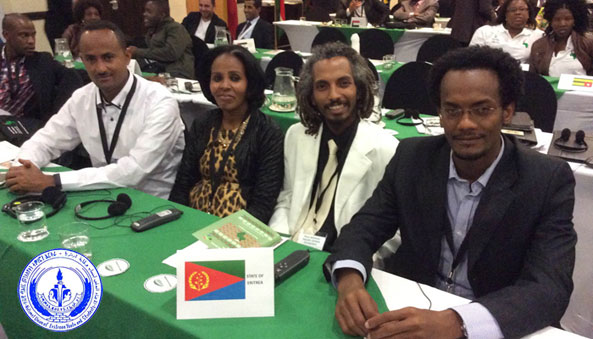 the Eritrean Youth and Students (NUEYS) was elected as Vice-President of East African sub-region by PYU and African Regional Coordinator by WFDY