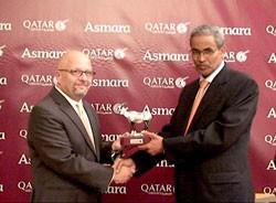 Qatar Airways CCO and Eritrean CAA Director General