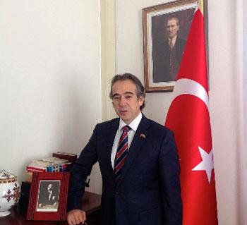 Ambassador Firat Sunel, Turkish envoy to Eritrea