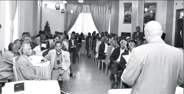 Representatives from different regions of Eritrea convened at a workshop in Asmara from December 26 - 28, 2014 to develop a 100 days work plan for the ambitious project