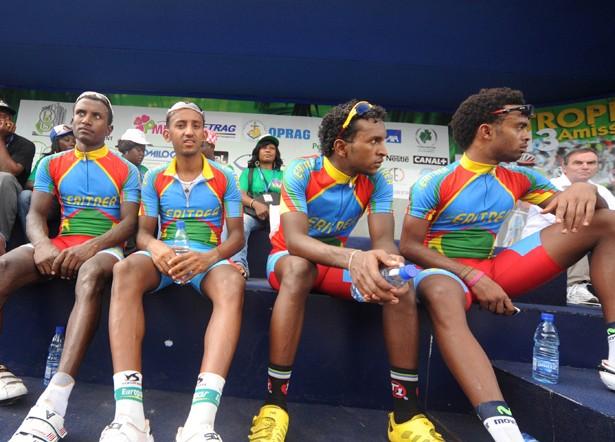 Eritrean riders